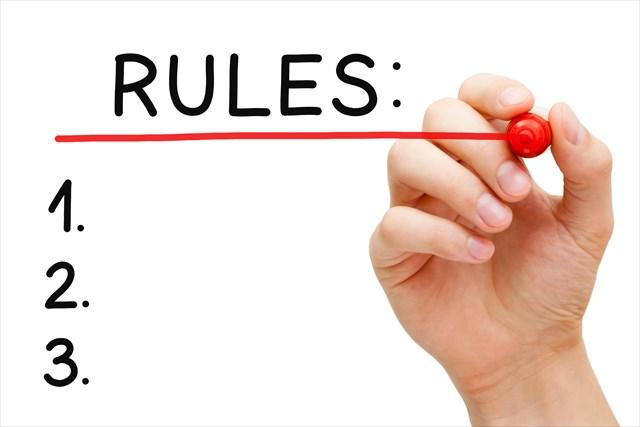 仮想通貨取引のルールを決める